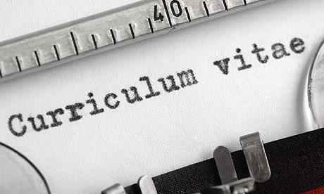 preparation of curriculum vitae